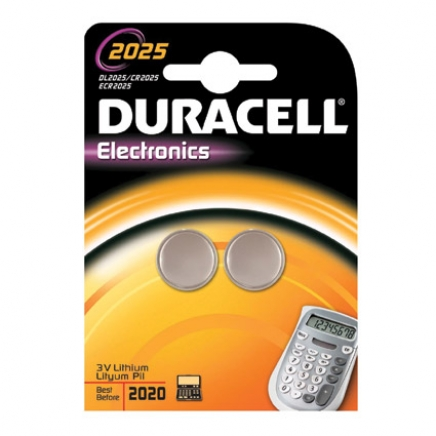 Duracell knoopcel CR2025,