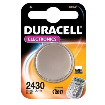 Duracell knoopcel Electronics CR2430