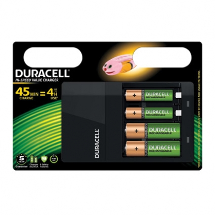 Duracell batterijlader Hi-Speed Value