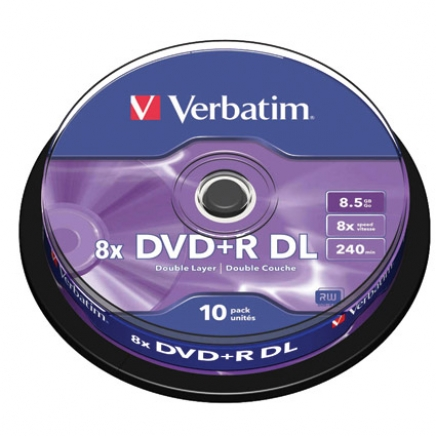 Verbatim DVD+R DOUBLE LAYER 8.5GB