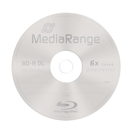 MediaRange BD-R Dual Layer 50GB