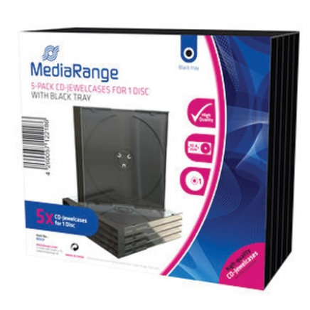 MediaRange CD Jewelcase voor 1 disc