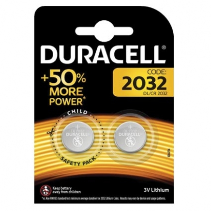 Duracell CR2032 knoopcel Electronics, op blister