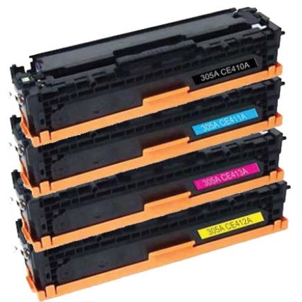 Inktknaller.nl - HP CE410X - 305X toner zwart 4.000 pag ...