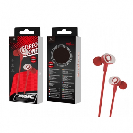 TECHANCY Stereo in-ear hoofdtelefoon