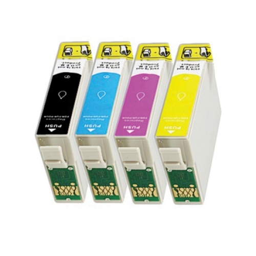 epson t1285 multipack 4 inktcartridges inktknaller huismerk. Black Bedroom Furniture Sets. Home Design Ideas